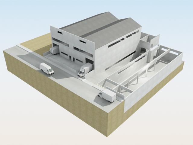 Proyectos llave en mano igenia ingenier a industrial y - Diseno nave industrial ...